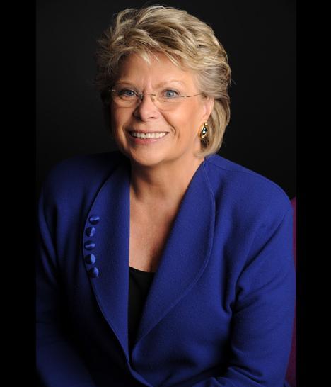 Viviane Reding, commissaire européen en charge de la justice