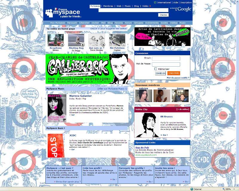 Myspace ouvre son espace mode