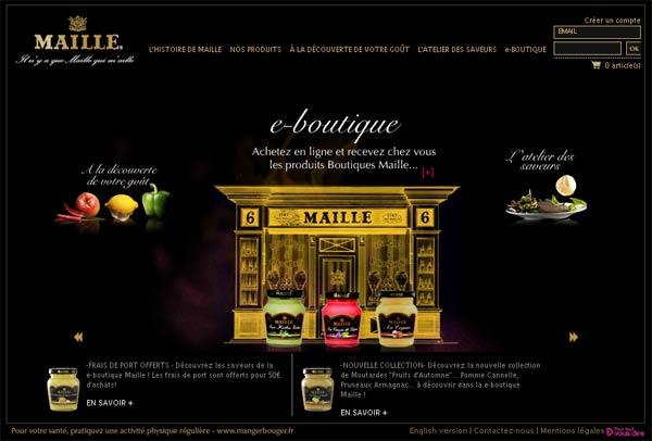 Maille choisit Externis pour gérer sa boutique en ligne