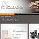 Larousse se lance dans la cuisine en ligne