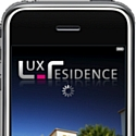 Application iPhone pour Lux Residences