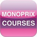Monoprix propose l'application Monoprix Courses
