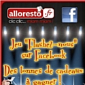 Alloresto fait le jeu sur Facebook