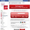 SFR propose un service de rechargement sur Facebook