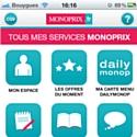 Monoprix crée une appli dédiée aux services