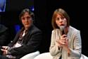 Patrick Robin et Anne-Véronique Baylac, le 4 avril 2012, à l'E-commerce One to One, à Monaco.