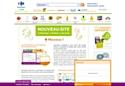 Depuis n'importe quelle page du site Ooshop, les utilisateurs peuvent accéder à leurs informations.