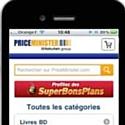 PriceMinister vient d'annoncer le lancement de son site mobile.