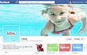 La page Facebook du site e-commerce