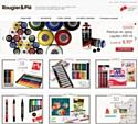 Rougier&Plé, spécialiste français reconnu des loisirs créatifs et des beaux-arts, a lancé son site marchand.