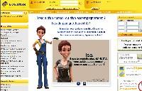 Manutan adopte un avatar 3D nommé Isa