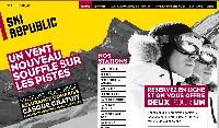 Ski Republic propose de réserver son matériel en ligne