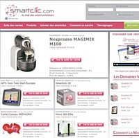 Smartclic.com, un nouveau site de vente événementielle