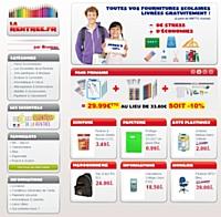Larentree.fr, nouveau site de fournitures scolaires