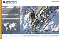 Sperian.com, un site dédié aux équipemens de sécurité,  change de look