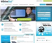 DrivePad, un nouveau site pour les conducteurs
