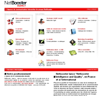 "NetBooster inaugure ""NetBooster Intelligence and Quality"""