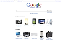 Google Shopping lancé en France