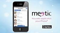 Meetic en campagne pour l'iPhone