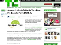 Amazon optimise son site pour sa tablette Kindle