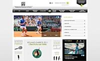 La Fédération française de tennis choisitTextuelLaMine
