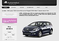 Autoreduc.com: les achats groupés appliqués à l'automobile
