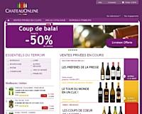 Lancement d'une activité de vente privée pour ChateauOnline
