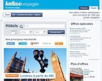 Kelkoo Voyages, enrichi d'une rubrique Hôtels