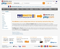 PriceMinister.co.uk ferme au profit de Play.com
