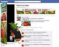 Oasis remercie ses deux millions de Fans Facebook