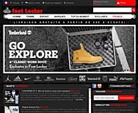 Foot Locker pose le pied sur le web français