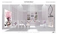 Viktor & Rolf dévoile sur Internet sa nouvelle gamme de parfumerie