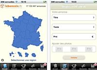Leboncoin.fr débarque sur iPhone