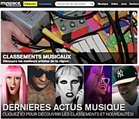 Myspace et Panasonic lancent Myspace TV