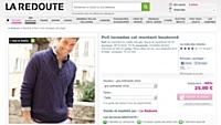 La Redoute solde un pull à 25€ au lieu de... 59392 €!