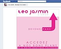 Téo Jasmin ouvre sa f-boutique avec Pepita
