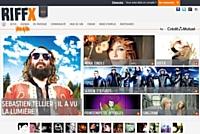 Le portail Riffx.fr est un réseau social mettant en relation artistes et fans de musique.