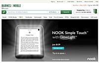 Microsoft a annoncé son intention d'investir 300 millions de dollars dans les liseuses Nook, propriété du libraire Barnes & Noble.