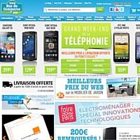 RueduCommerce réalise un chiffre d'affaires de 290,9 millions d'euros.