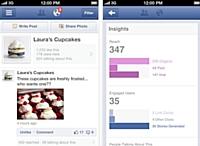 Facebook lance une appli de gestion des pages professionnelles