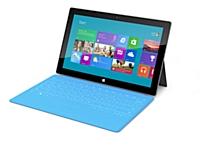 Microsoft a dévoilé sa tablette Surface.