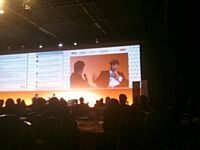 Jérémie Berrebi (Kima Ventures) lors de l'AG de l'ebg le 26 juin 2012