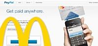 PayPal encaisse les burgers de McDonald's