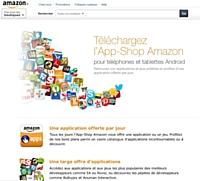 App-Shop : le magasin d'applications d'Amazon débarque en France