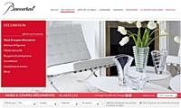 Baccarat, cristallerie haut de gamme, lance son nouveau site marchand.