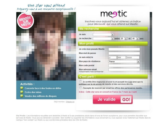 Meetic pc