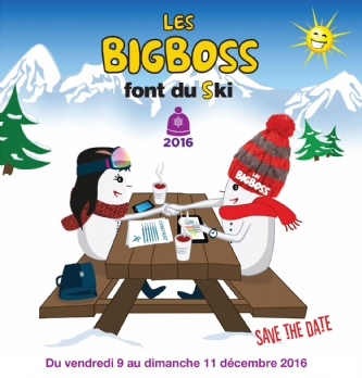 Les BigBoss font du Ski