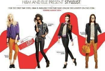 Sur Elle.com, H&M donne un avant-goût de son site e-commerce