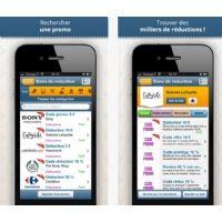 Bons-de-Reduction.com lance son application iPhone