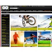 Un nouveau site marchand pour Go Sport